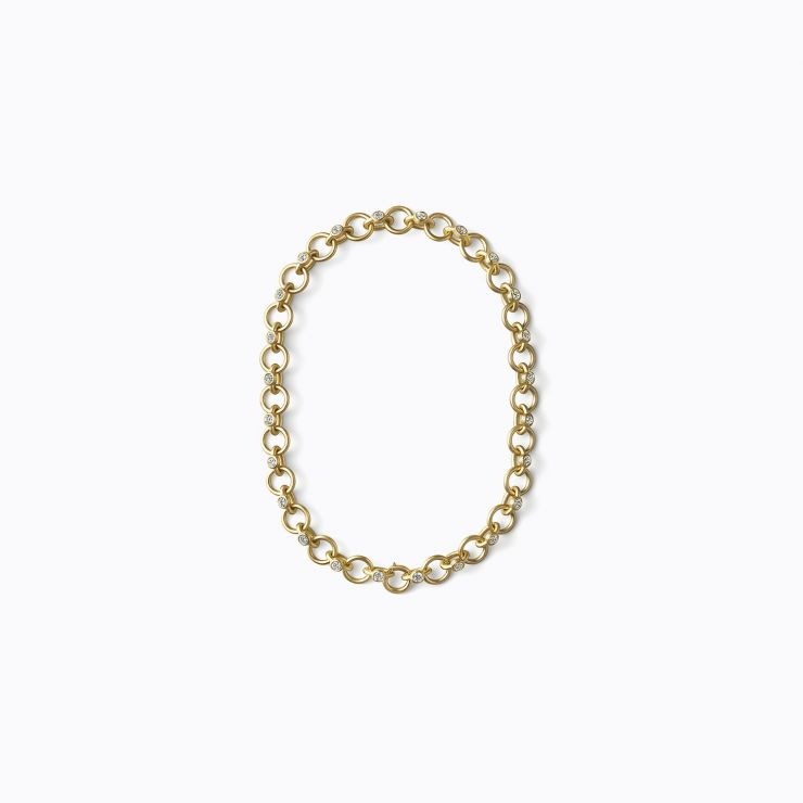 Link Bracelet 01, yellow gold