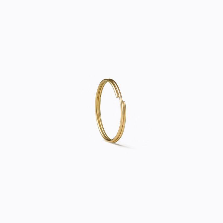 3D Diamond Triangle 10 (01), yellow gold