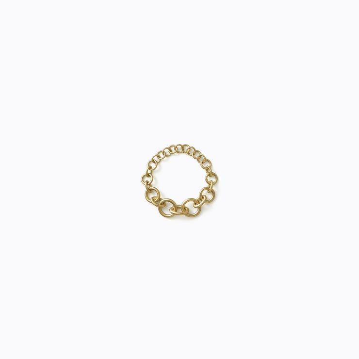 Link Bracelet 01, yellow gold