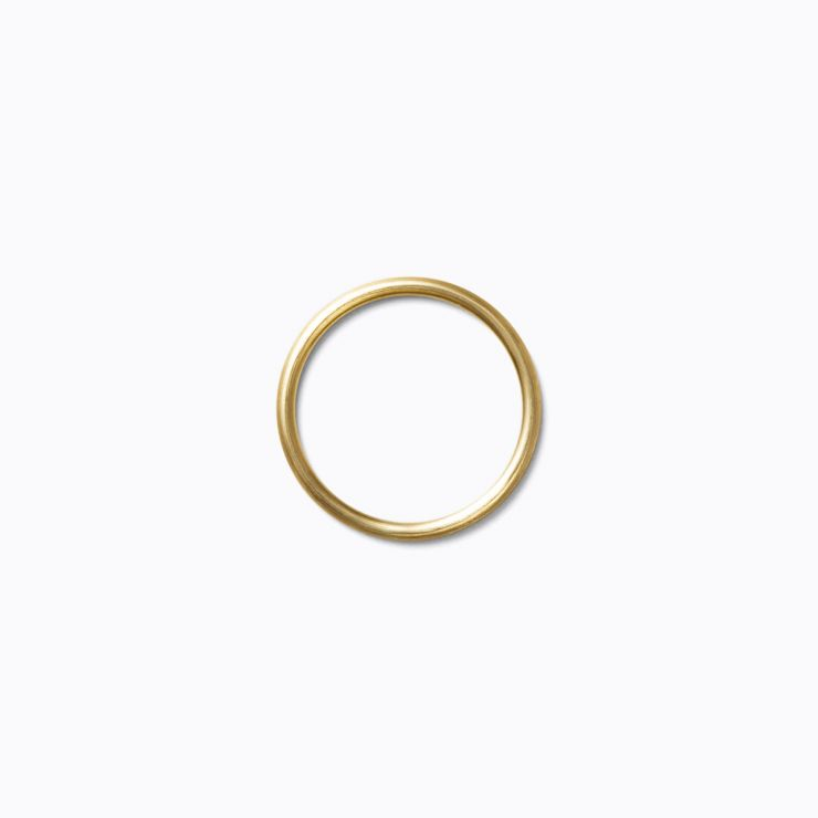 Line Ring 1.5, yellow gold