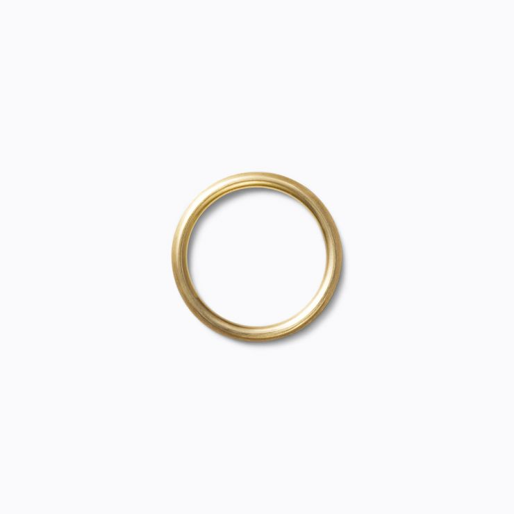Line Ring 2.0, yellow gold