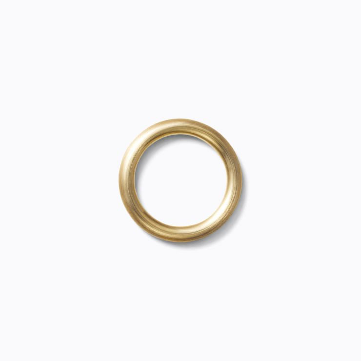 Line Ring 3.0, yellow gold (matte finish)