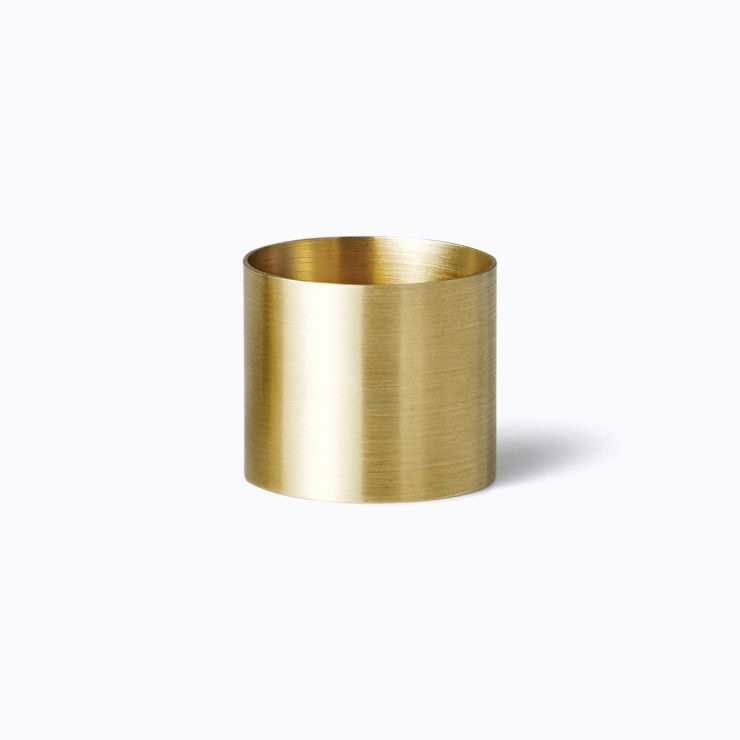 Plate Ring 15.0, yellow gold
