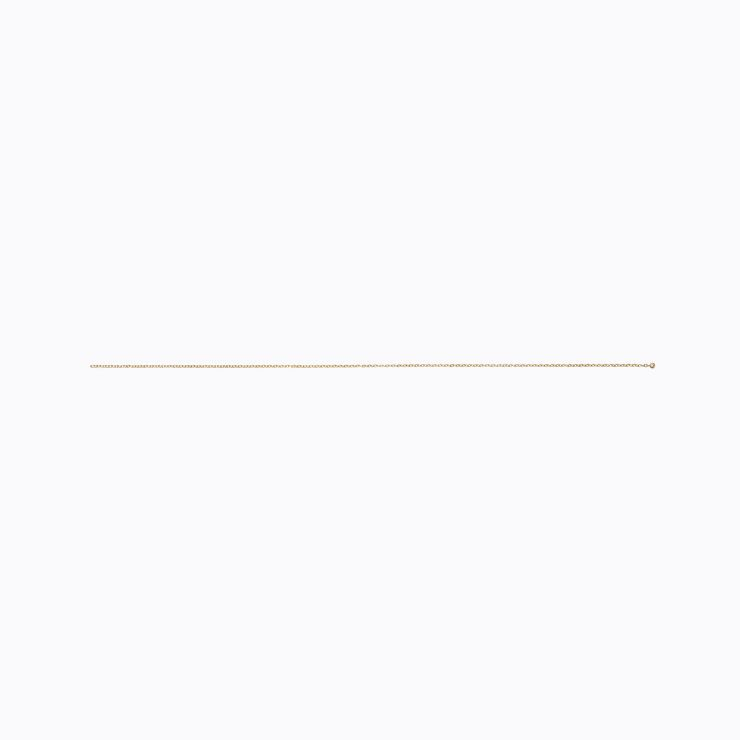 Diamond Chain Pierce 200 (01), yellow gold