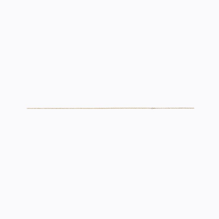 Diamond Chain Pierce 200 (02), yellow gold
