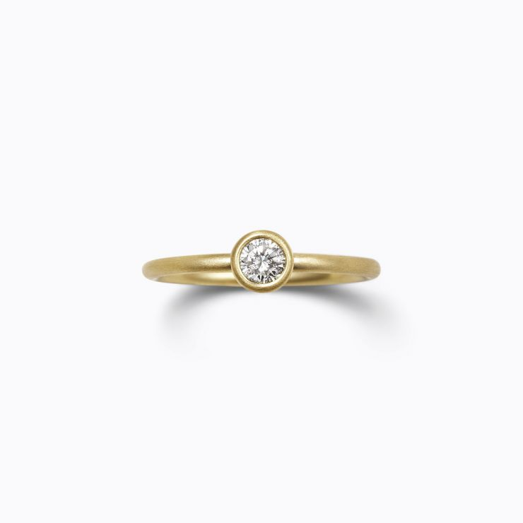 Classic Ring 01 (VS), yellow gold