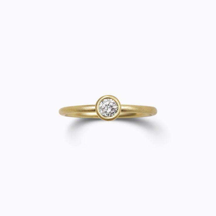 Classic Ring 01 (VS), yellow gold