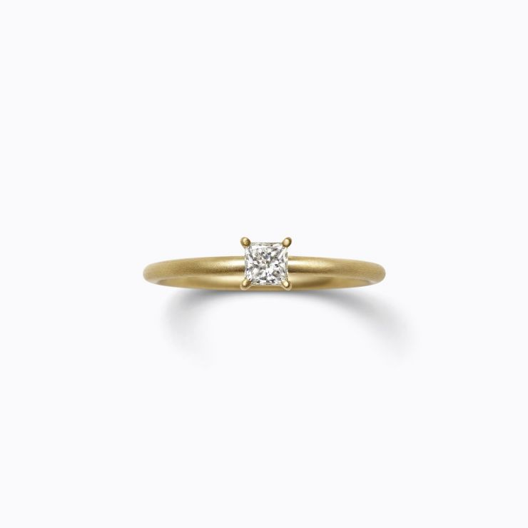 Classic Ring 04 (VS), yellow gold