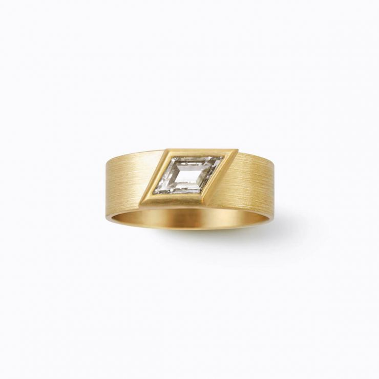 Rhomboid Ring